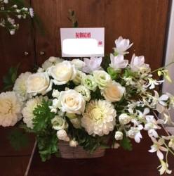 アレンジメント【ホワイト・グリーン系】108001