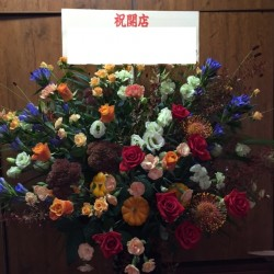 スタンド花1段【ミックス系】318006